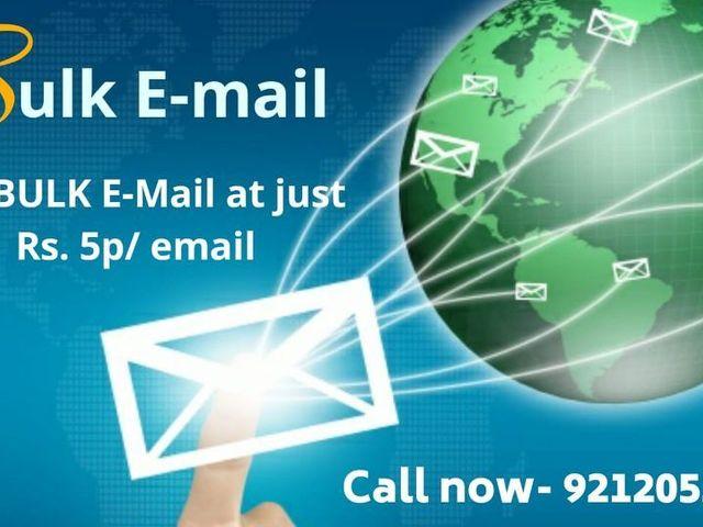 Bulk Email Service Provider in Delhi | Bulk Email Marketing - 1